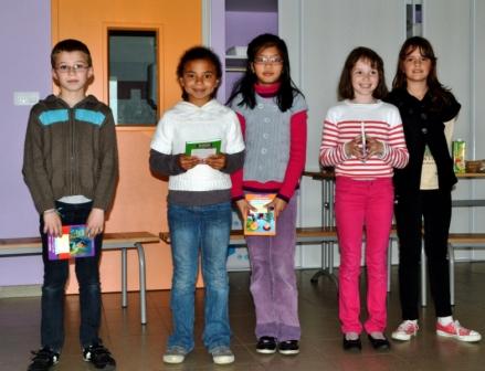 Les 5 jeunes Lauréats
