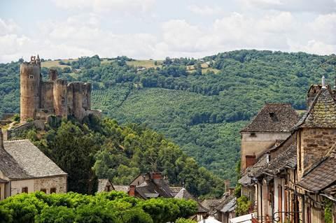 Najac et son château